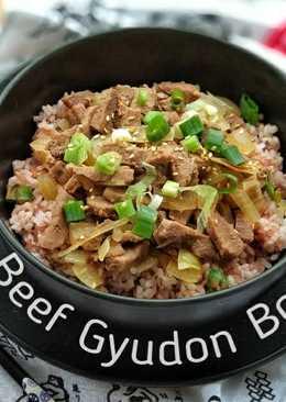 Beef Gyudon Bowl