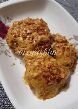 Indian Salted Egg (Ayam Saus Telur Asin Bumbu India)