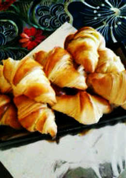 Croissants super mudah(highly recomended)