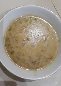 bubur kacang hijau sederhana