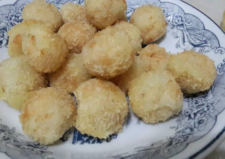 Resep Nugget bakso ayam Kiriman dari dian missfa