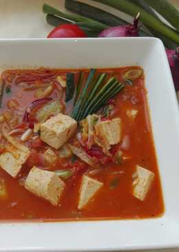 Sundubu jjigae, 순두부 찌개 (sup tahu pedas)