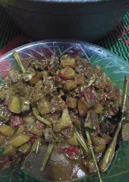 Rendang semur daging+kentang
