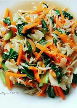 Yasai itame (tumis sayur jepang)