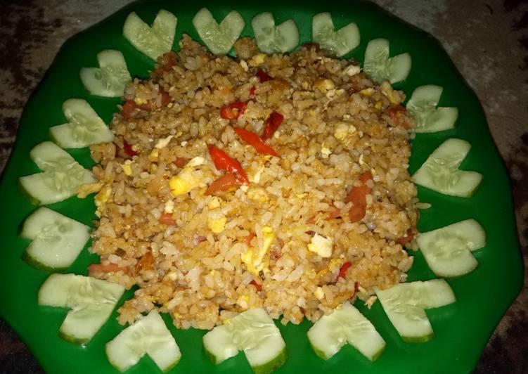 Nasi goreng penuh cinta💝