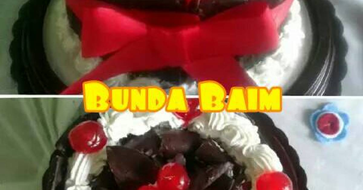 Resep Cake kukus ulang tahun