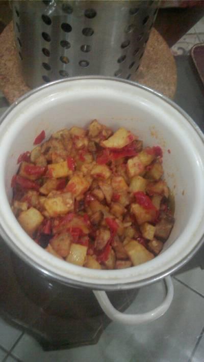 Sambal goreng kentang pedas#BikinRamadhanBerkesan
