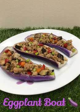 Eggplant boat 🍆