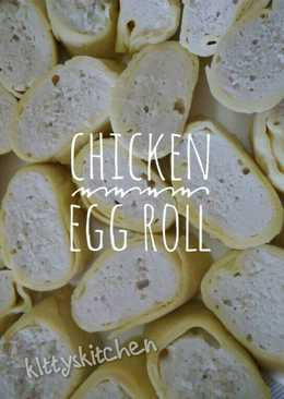 Chicken Egg Roll ala Hokben