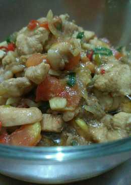 Teriyaki ayam tomat Endess kreasi sendiri (home Made)