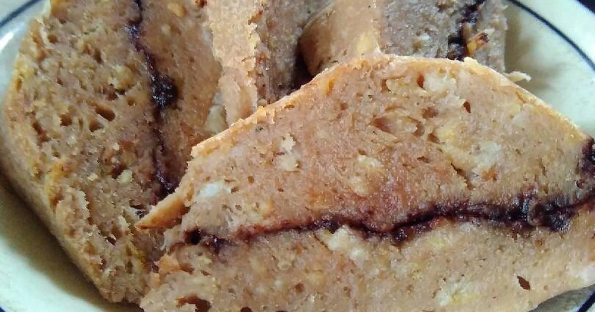 Resep Cake Pisang Kukus Ncc: Resep Chocomilk Banana Cake Kukus (bolu Kukus Pisang Susu