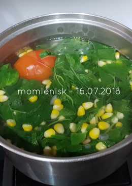 Sup Bayam praktis bergizi