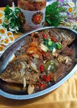 Ikan Gurame kecap pedas berempah