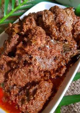 Rendang Daging (Padang)