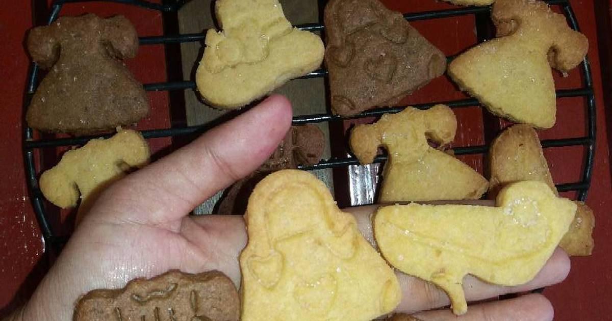 Resep Cookies Eggless Moka