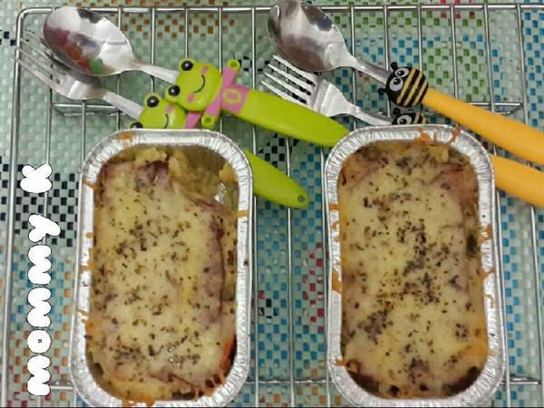 Cheesy Baked Rice/ Mozaru