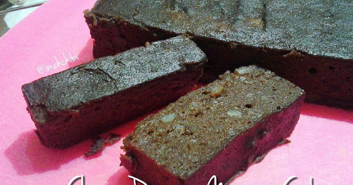 Resep Cake Kukus Kentang: Resep Brownies Kentang Kukus (Choco Potato Moist Cake