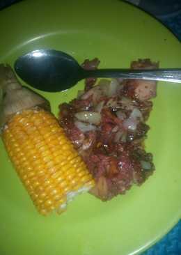 Diet mayo jagung dan daging sapi mandai