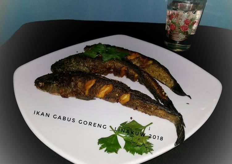 #9 Ikan Gabus Goreng