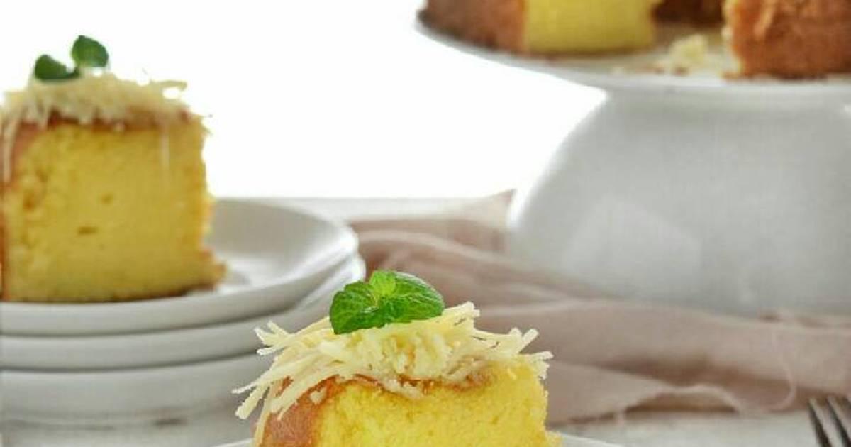 Resep Kue Bawang Jadul: Resep Kue Lebaran: Resep Bolu Jadul Lemon