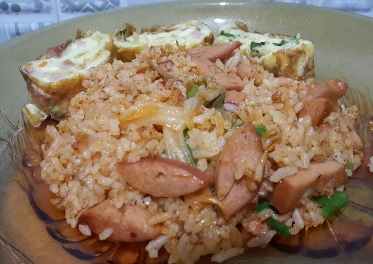 Nasi goreng kimchi/kimchi bokumbap