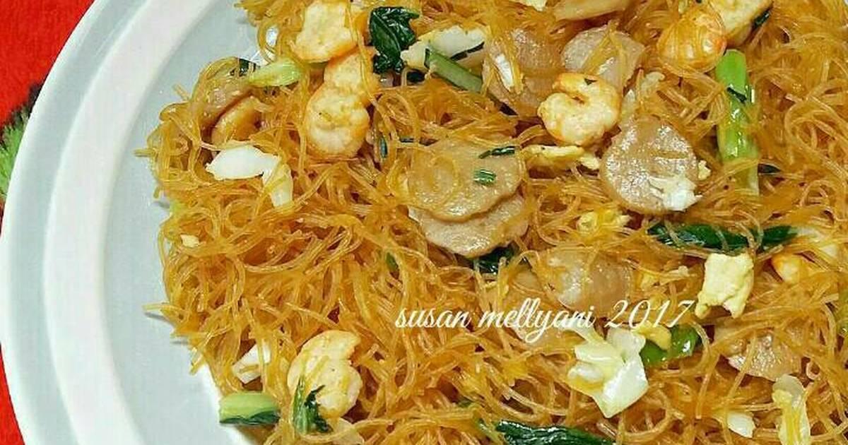 resep bihun goreng putih simple resep bihun goreng simple oleh mamad kitchen cookpad bahan Resepi Mee Hoon Goreng Azlita Enak dan Mudah