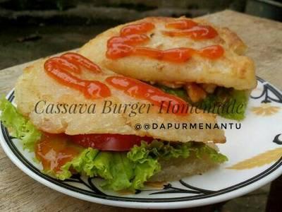 Cassava Burger Homemade, no Msg #indonesiamemasak
