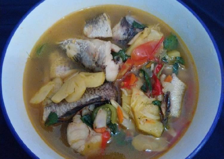 Pindang Ikan Gabus foto resep utama