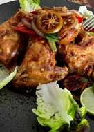 Sayap Ayam Goreng Mentega a la Pawonku
