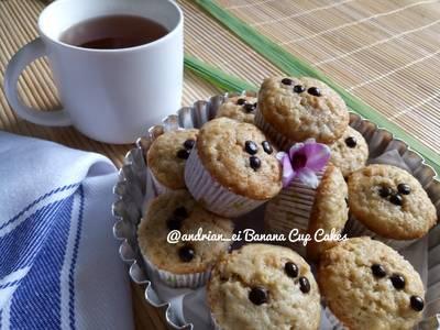 Cupcake Pisang (Tanpa Mixer)