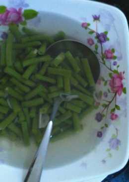 Sayur bening kacang panjang mudah dan praktis