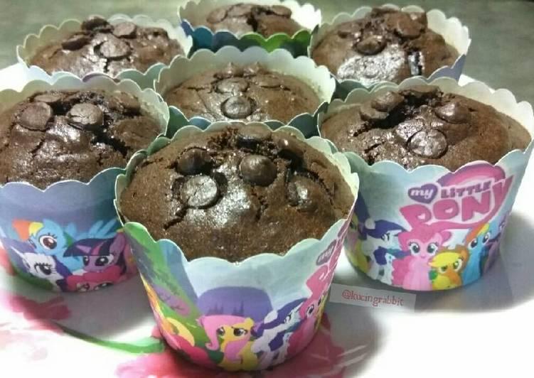 Resep Triple Choco Muffin Dari kucingrabbit [ Anny ]