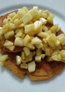 Pancake saos apel