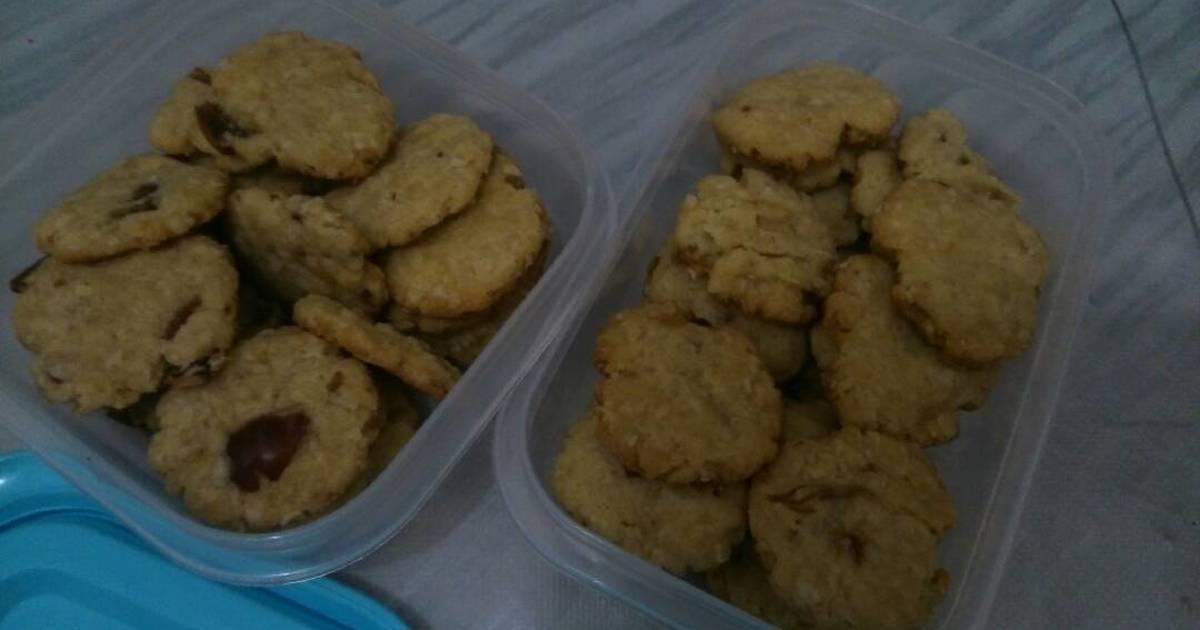 """Resep Oma (Oatmeal+Kurma) Cookies """"Magic Com"""""""