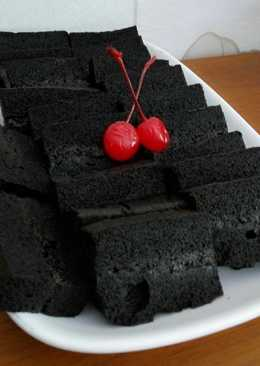 Brownies kukus ketan item(bronketem)