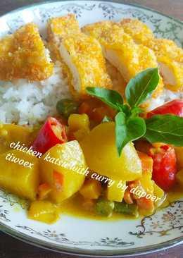 Chicken Katsu With Curry