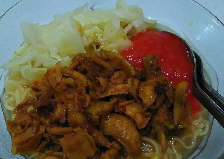 Mie Ayam homemade recook