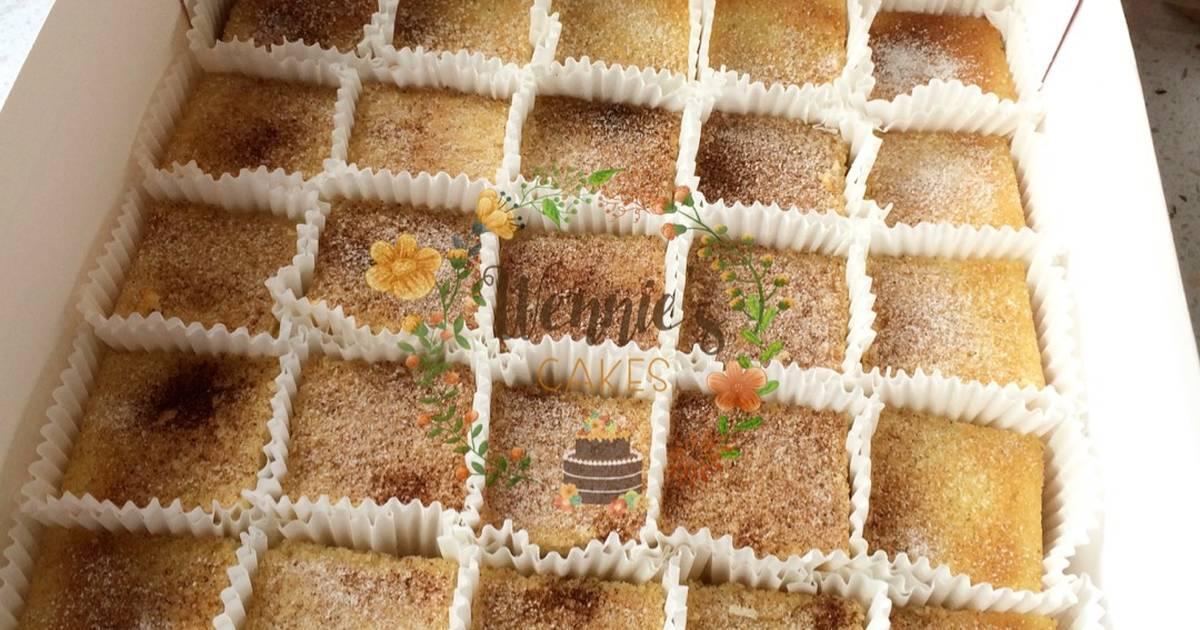 Resep Cinnamon buttercake
