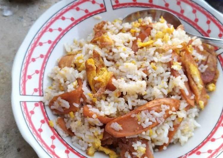 Nasi Goreng Sosis Telur (5)