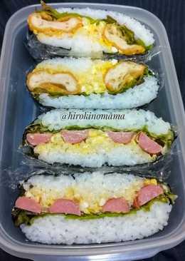 Onigirazu, simpel dan enak buat bekal piknik