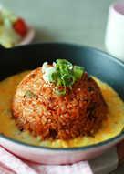 Kimchi Bokkeumbab Nasi goreng Korea