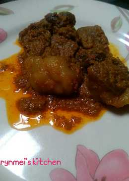 Rendang Daging#ketofriendly
