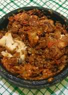 Ayam geprek ft sambal bawang ala spesial sambal (SS)