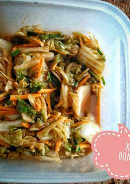 Kimchi homemade ala2