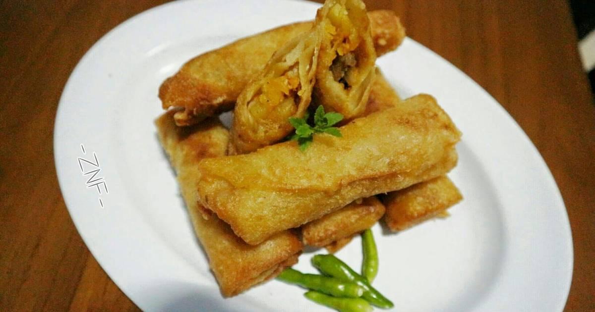 resep lumpia isi sayur oleh znf   cookpad