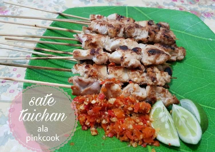 Resep Sate Taichan - Pinkcook