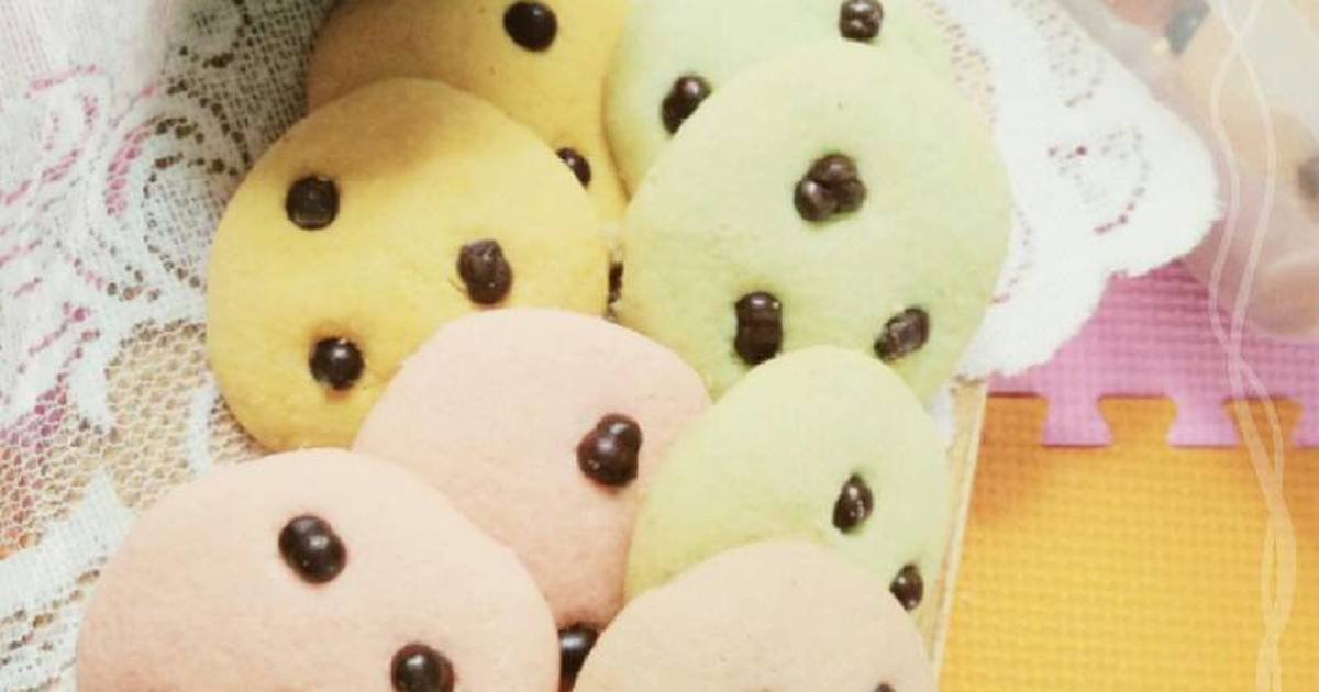 Resep Colorful Chocochips Cookies