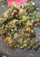 Sambal terasi cabe rawit