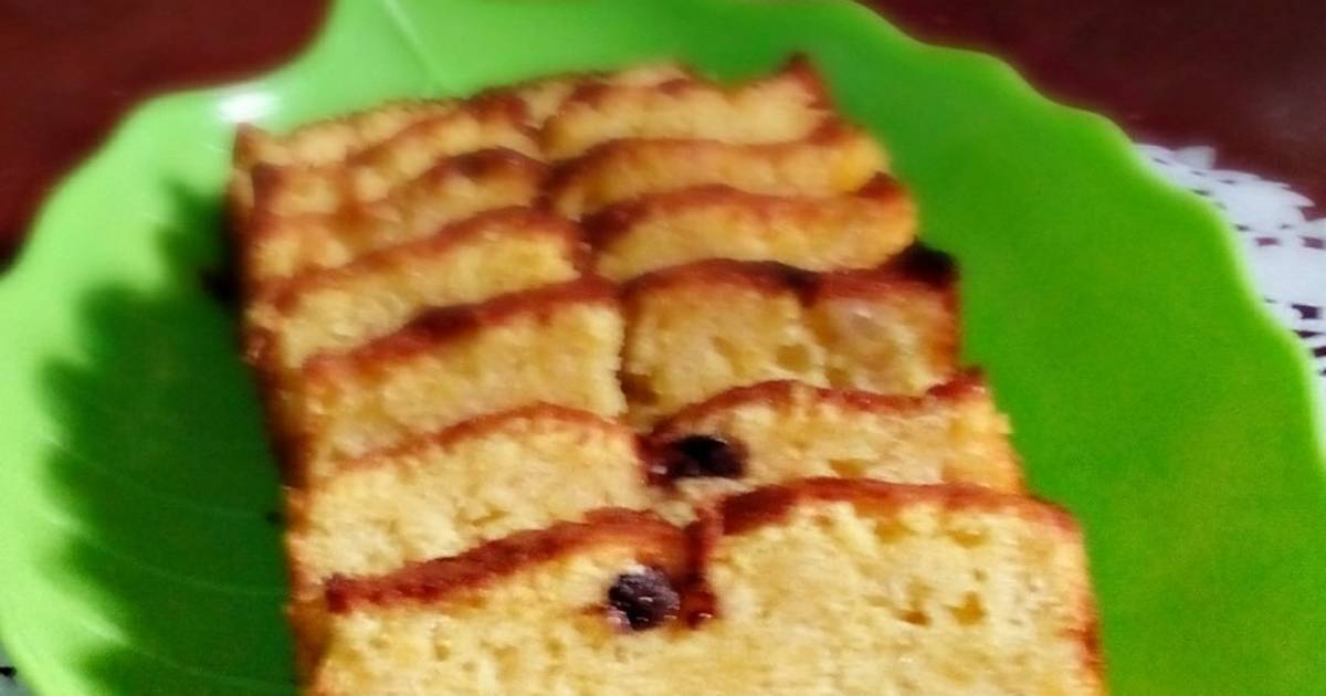 Resep Bolu Jadul Tanpa Pengembang: Resep Cake Pisang Enak & Moist Tanpa Pengembang Oleh Niken