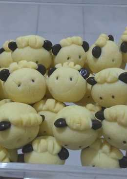 German sheep cookies ala mamah byan